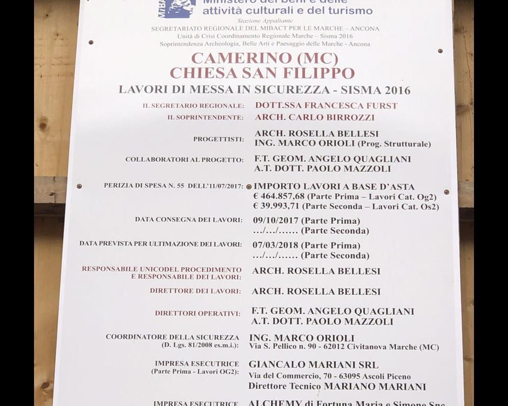 San Filippo - MIBACT